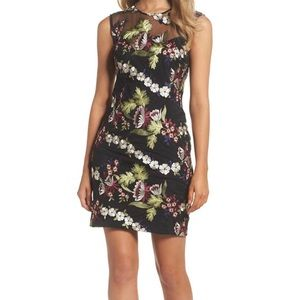 Anthropologie Bardot floral dress 6 NEW sold out